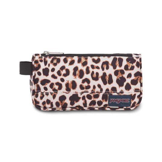 Estojo JanSport Medium Accessory Pouch - Leopard Life