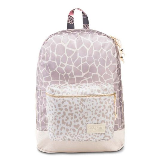 Oferta Mochila JanSport Super Lux - Giraffe Mix por R$ 689.9