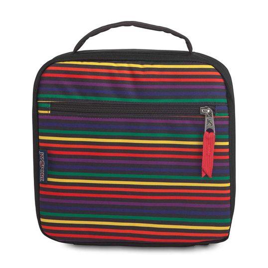 Lancheira JanSport Lunch Break - Rainbow Stripes
